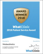 Medaesthetics - Award Winner 2018 - WhatClinic
